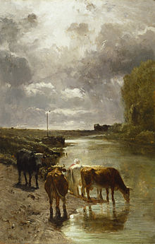 220px-Constant_Troyon_-_Cattle_Drinking_-_Walters_3759