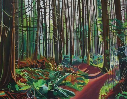 Light Through Canisland Woods