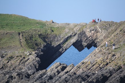 Devil's Bridge, Worms Head, Rhossili