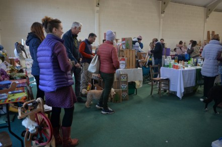 Clyne Christmas Market (with dog)
