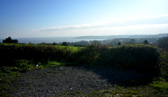 View From Clyne Farm Towards Mumbles