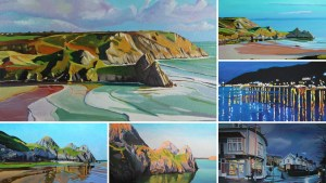 Gower and Swansea paintings