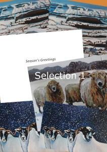 Christmas card Selection 1