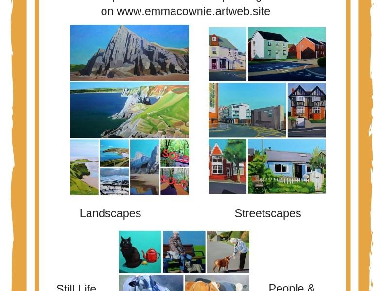 January Sale on Emma Cownie Paintings