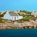 Painting of Irish Cottage in Donegal
