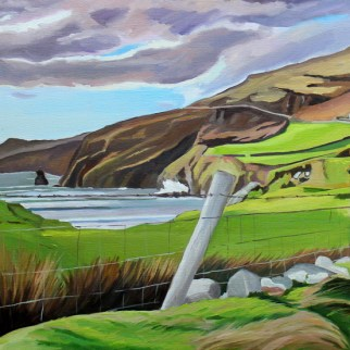 Painting Muckross Head