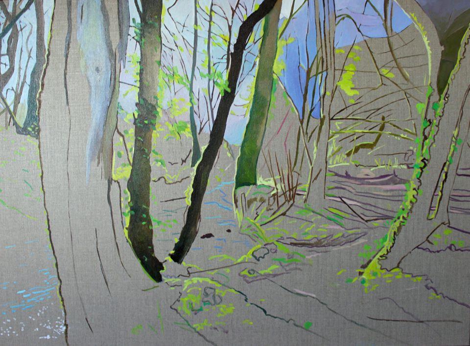 Woodland Painting