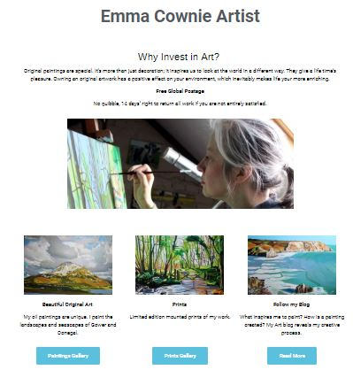 Emma Cownie's Blog