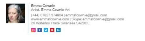 Email Signature of Emma Cownie