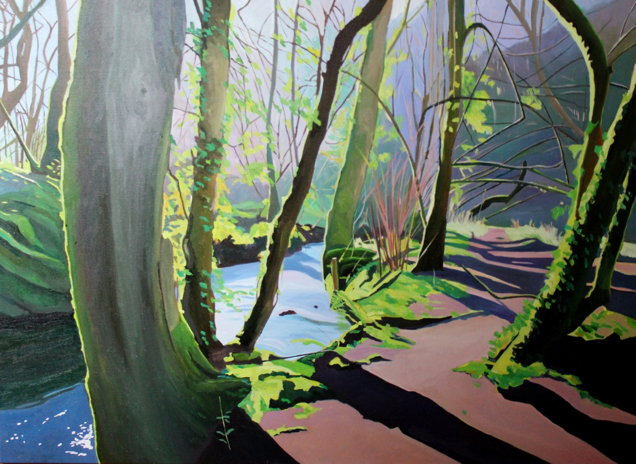 Painting of Woodlands