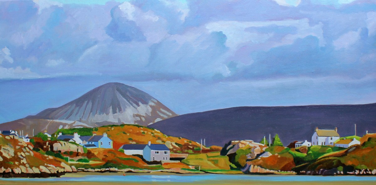 Painting of Donegal, Ireland