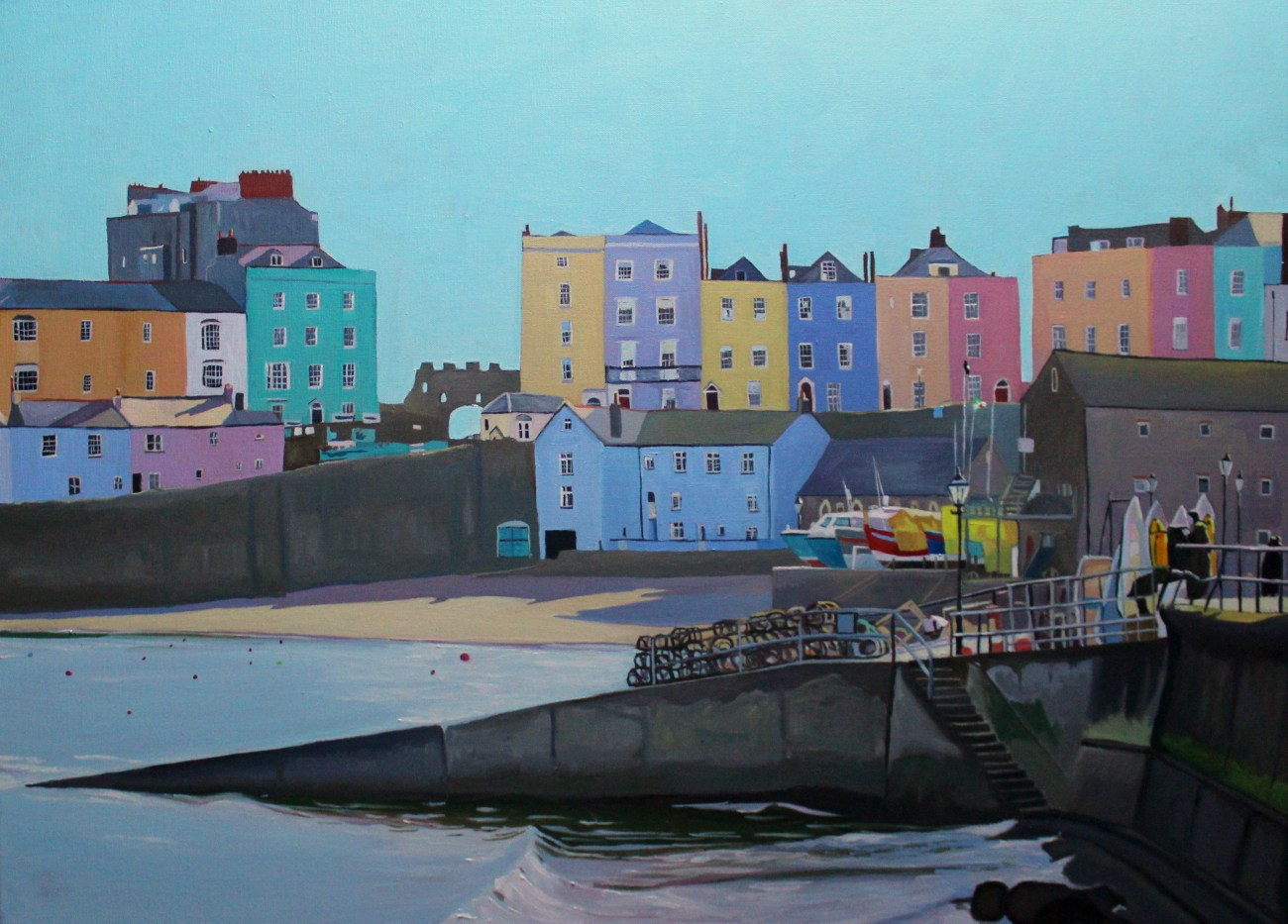 Tenby Painting