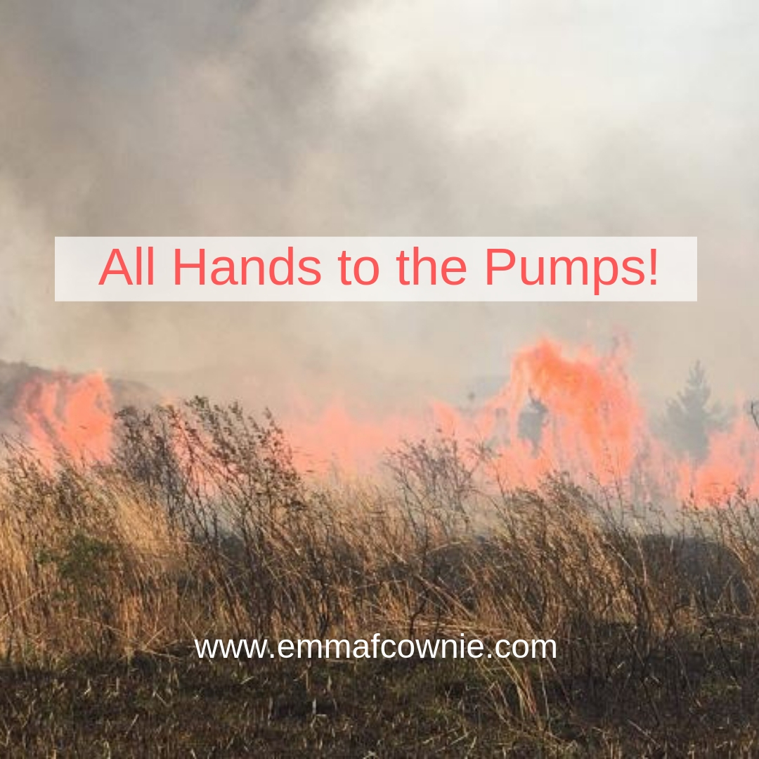 All hands to the Pumps