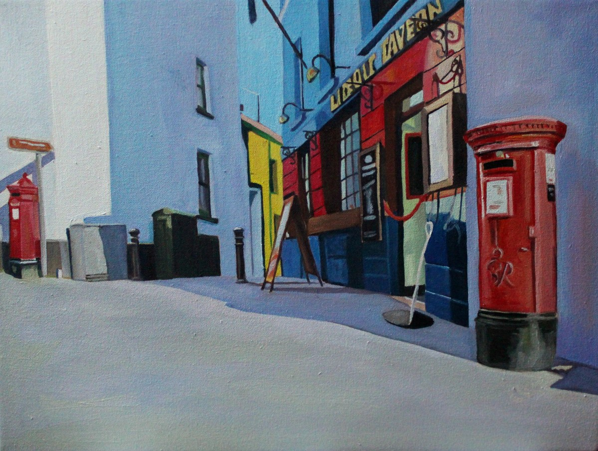 Painting of Tenby Wales