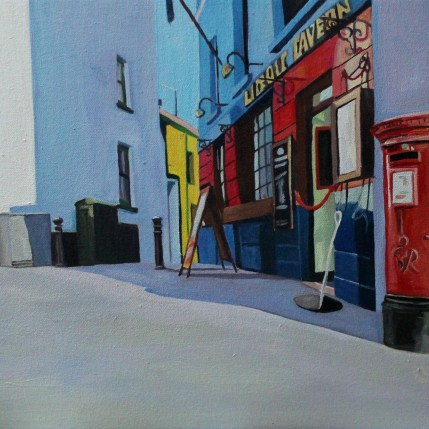 Painting of Tenby Wales_Emma Cownie