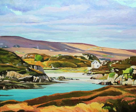 Donegal Landscape painting