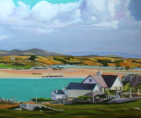 Painting of Donegal