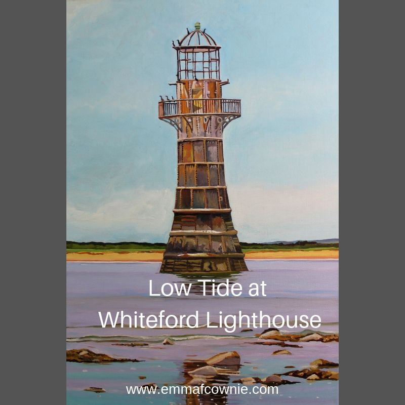 Low Tide at Whiteford Lighthouse