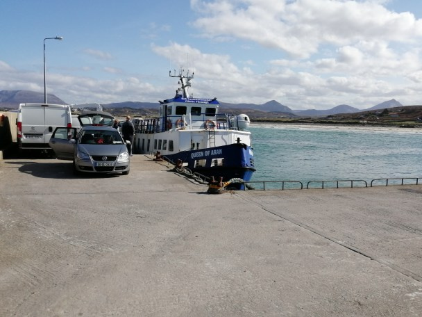 Ferry at Magheraroarty Quay