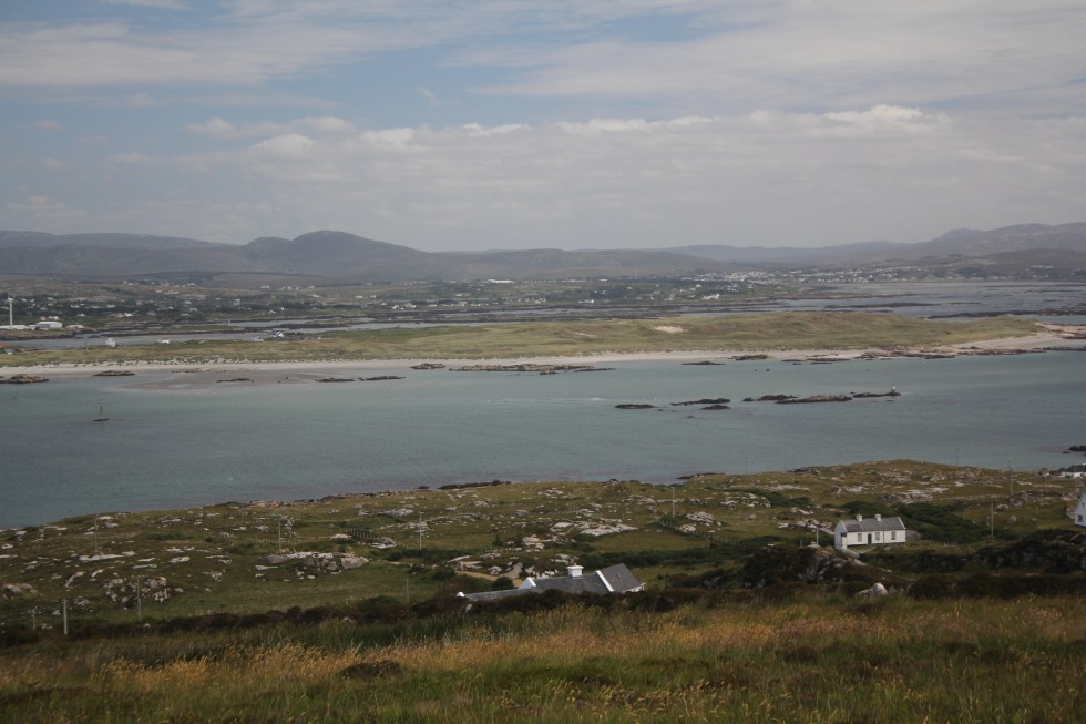 View Across Arranmore, Donegal.