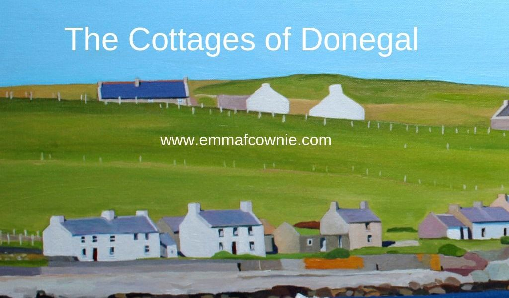 Cottages of Donegal, Ireland