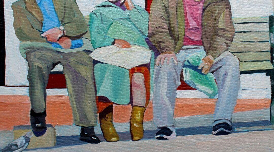 People in Stroud by Emma Cownie