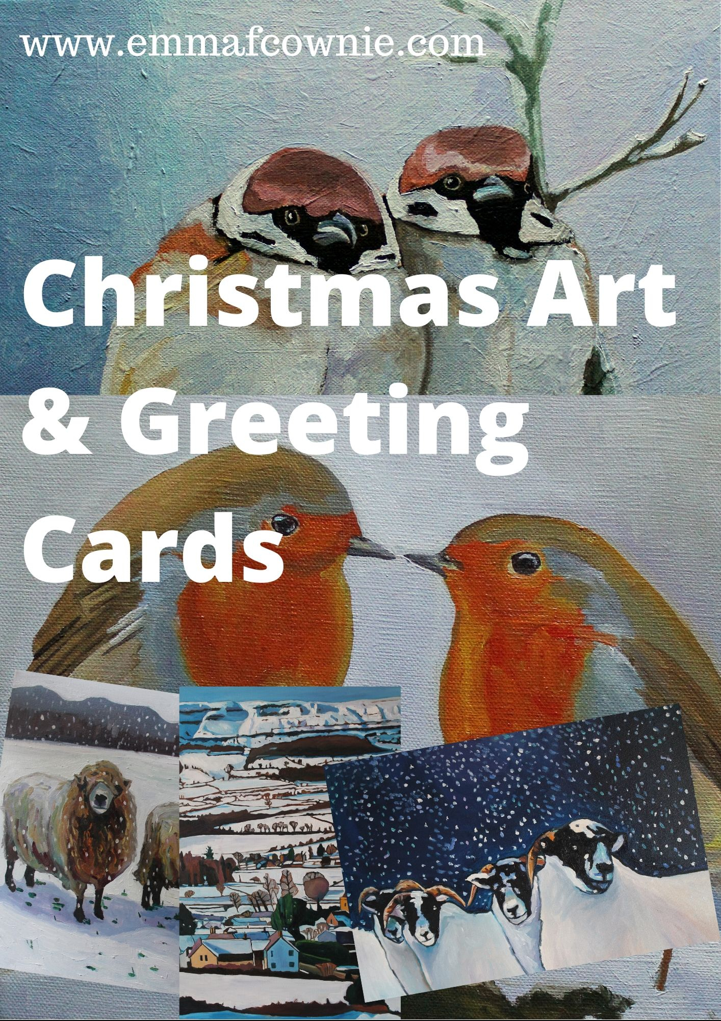 Christmas Art & Greeting Cards