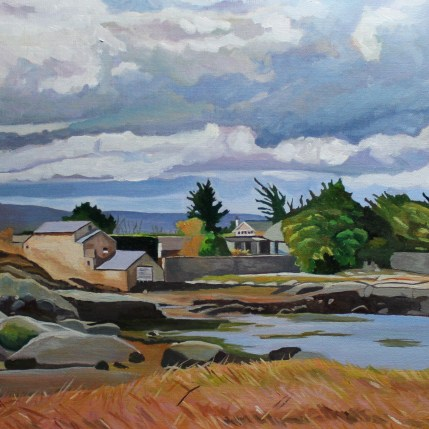 Painting of landscape of Donegal, Ireland