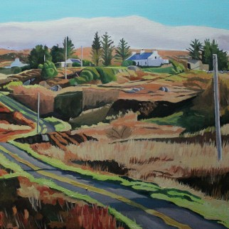 Donegal, Ireland landscape painting_EmmaCownie