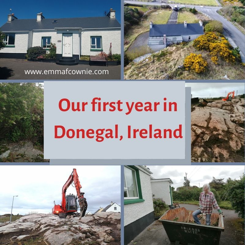 Our First Year in Donegal, Ireland