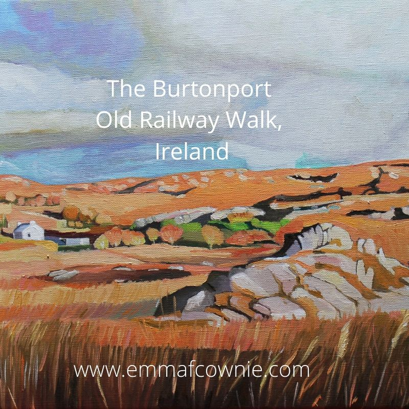 The Burtonport Old Railway Walk, Ireland