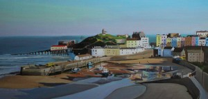 Painting of Tenby Harbour