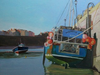 Tenby Painting,wales