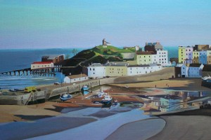 Painting of Tenby Harbour_EmmaCownie