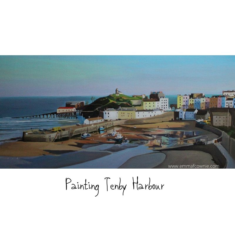 Painting Tenby Harbour