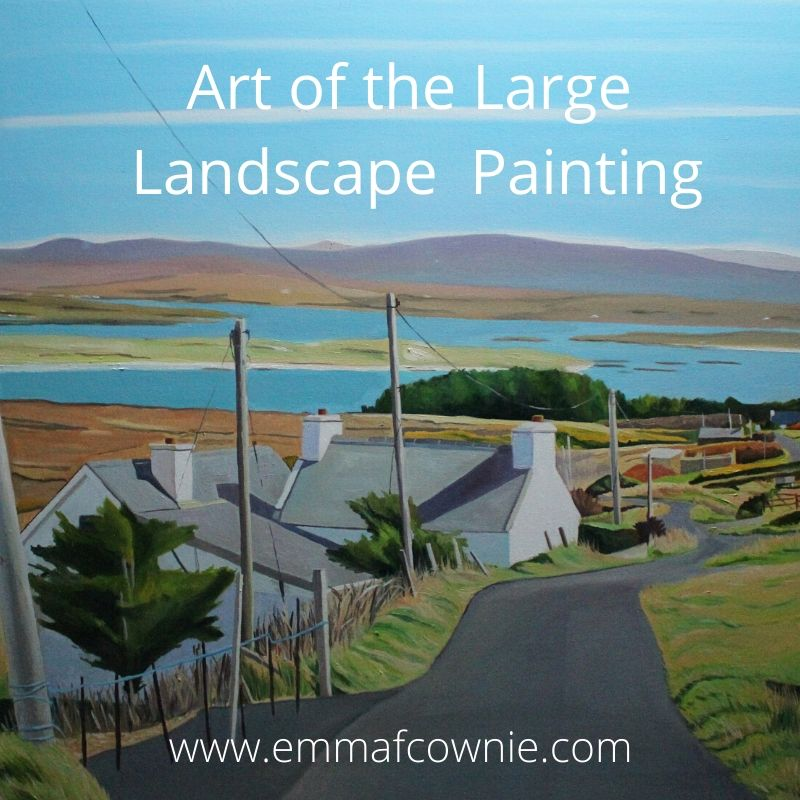 The Art of the Large Landscape Painting