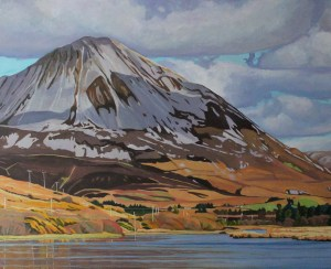Passing Clouds on Errigal (studio)