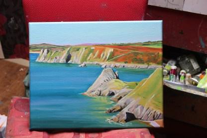 Reflections, Three Cliffs Bay