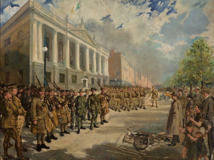 The Arrest of Countess Markievicz