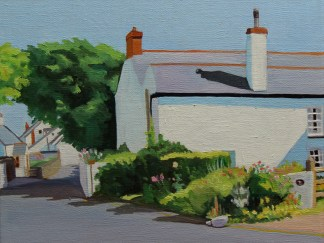 Painting of Port Eynon, Gower_Emma Cownie