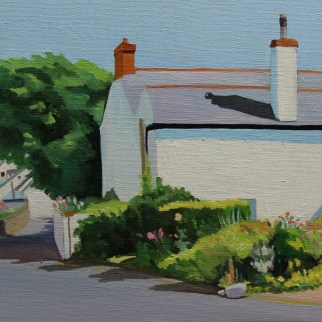 Painting of Port Eynon, Gower_Emma Cownie