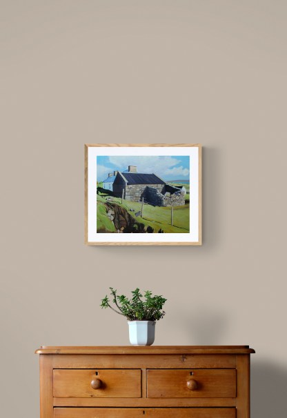 Landscape painting Arranmore