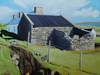 Painting of Arranmore, Ireland by Emma Cownie