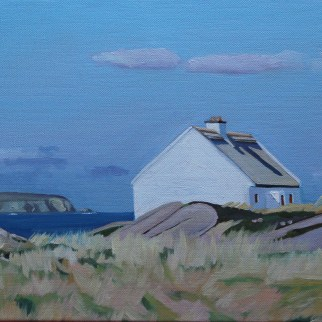 Painting of Donegal Thatched Cottage (Cruit Island)