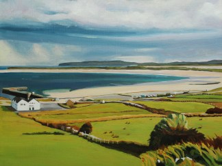 Painting of view Overlooking Magheroarty