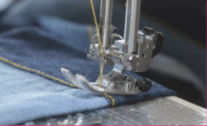 For non-sewers, a sewing machine foot