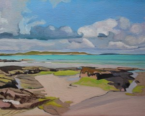 View From Dunmore Strand (Work in Progress)