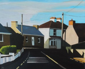 Painting of Dungloe, Donegal