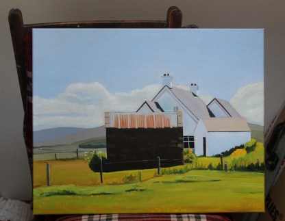The Tin-Roofed Shed at Marameelan, Donegal
