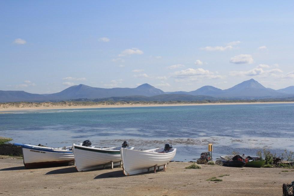 Boats on Inishbofin